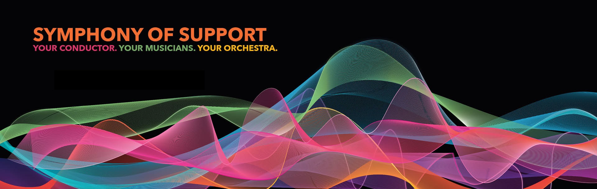 Symphony of Support: Your Conductor, Your Musicians, Your Orchestra